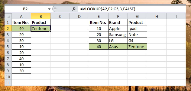 VLookup Function - Lookup function